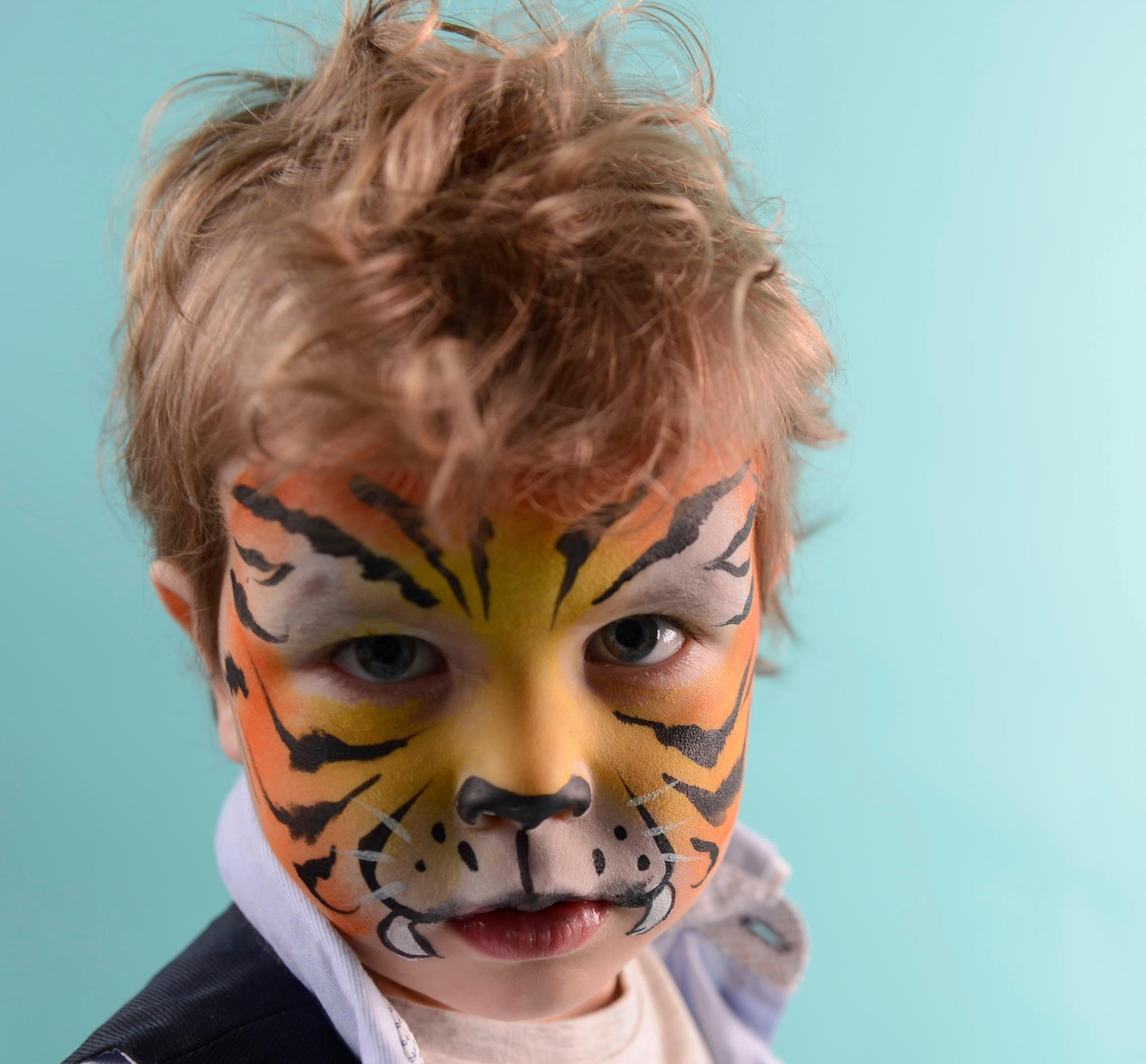 sminken tijger kind